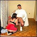 Meine Frau bl�st mir meinen Schwanz