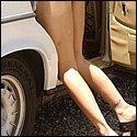 Geile lange Beine