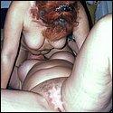 Reife Lesben beim Muschi lecken